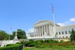 Het Hooggerechtshof van Verenigde Staten in Washington DC, de V.S. Royalty-vrije Stock Afbeelding