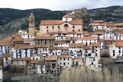 Het hoogland in Spanje Stock Foto's