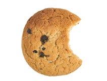 Het hoogste koekje van het meningshavermeel met rozijnen Royalty-vrije Stock Afbeelding