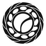 Het hoogste pictogram van meningssushi, eenvoudige stijl vector illustratie