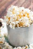 Het hoogtepunt van de aluminiumkop van popcorn Stock Afbeeldingen