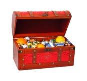 Het Hoogtepunt van de doos van snoepjes royalty-vrije stock afbeeldingen