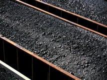 Het Hoogtepunt van de Energie van de steenkool - schaal Royalty-vrije Stock Foto's