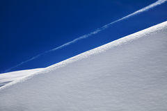 Witte heuvel royalty-vrije stock foto