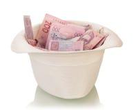 Het hoogtepunt van de hoed van geld Royalty-vrije Stock Afbeelding