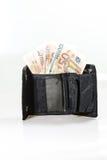 Het Hoogtepunt van de portefeuille van Contant geld Stock Foto's