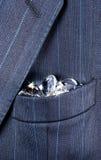 Het hoogtepunt van de zak van diamanten Royalty-vrije Stock Afbeeldingen
