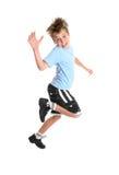 Het hoppen van het kind Royalty-vrije Stock Fotografie