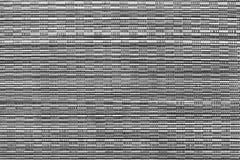 Het horizontale geweven abstracte patroon een dekking van grijze kleur Stock Fotografie