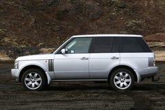 Het horizontale schot van de auto Royalty-vrije Stock Afbeeldingen