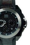 Het horloge dichte omhooggaand van Mens Royalty-vrije Stock Afbeeldingen