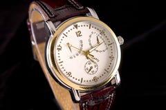 Het horloge van de chronografie Stock Afbeeldingen