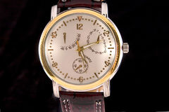 Het horloge van de chronografie Royalty-vrije Stock Afbeeldingen
