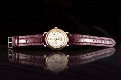 Het horloge van de chronografie Stock Foto's