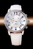 Het horloge van de dame stock foto's