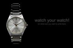 Het horloge van de hand Royalty-vrije Stock Fotografie