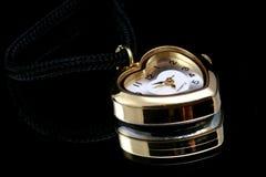 Het horloge van het hart royalty-vrije stock afbeelding