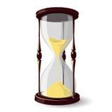 Het horloge van het zand stock illustratie