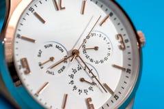Het horloge van luxemensen Royalty-vrije Stock Foto's