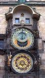 Het horloge van Praag Stock Foto's