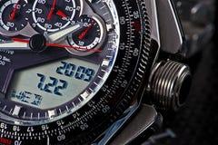 Het horloge van sporten Stock Afbeelding