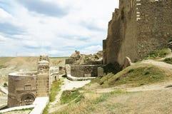 Het Hoshapkasteel wordt gevestigd in zuidoostelijk Turkije De bouw van The Times van Urartu stock fotografie