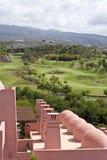 Het Hotel Abama Tenerife van de Cursus van het golf Stock Afbeelding