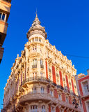 Het Hotel Art Noveau Murcia Spain van Cartagena Gran Royalty-vrije Stock Foto