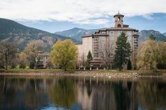 Het hotel Broadmoor stock afbeelding