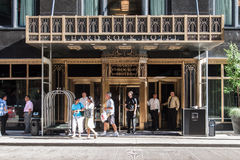 Het Hotel Chicago van de Koffie van de harde Rots Stock Fotografie