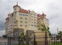Het hotel complexe ` Bogatyr ` in Adler Royalty-vrije Stock Foto's