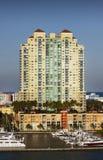 Het Hotel/de Flats van Miami stock foto