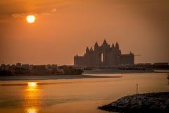 Het Hotel Doubai van Atlantis Stock Afbeelding