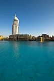 Het hotel Doubai van het adres royalty-vrije stock foto