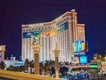 Het Hotel en het Casino van de luchtspiegeling Stock Afbeeldingen