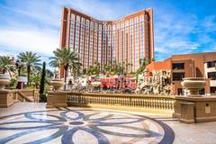 Het Hotel en het Casino van het Eiland van de schat Stock Foto's