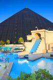 Het Hotel en het Casino van Luxorlas vegas Royalty-vrije Stock Foto's