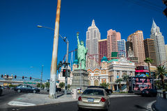 Het Hotel en het Casino van New York New York Stock Foto's