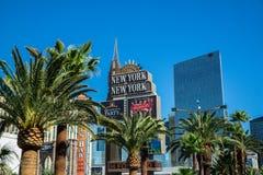 Het Hotel en het Casino van New York New York Stock Fotografie