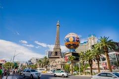 Het Hotel en het Casino van Parijs Stock Afbeeldingen