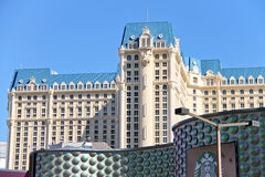 Het Hotel en het Mirakelmijlwinkels van Parijs in Las Vegas Royalty-vrije Stock Afbeelding