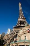 Het Hotel en het Restaurant van Parijs Royalty-vrije Stock Foto