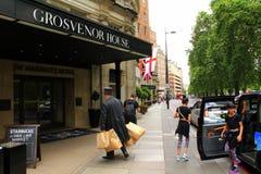 Het hotel het UK van Londen stock foto's