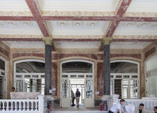 Het Hotel Istanboel van het Perapaleis Stock Foto's