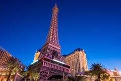 Het Hotel Las Vegas van Parijs Stock Fotografie