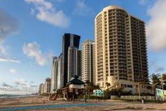 Het Hotel Oceaanpunt van de DoubleTreetoevlucht, Strand het Noord- van Miami Royalty-vrije Stock Foto