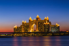 Het Hotel van Atlantis in Doubai De V.A.E Royalty-vrije Stock Afbeelding