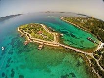 Het Hotel van Bodrum van de Rixospremie, Turkije Stock Fotografie