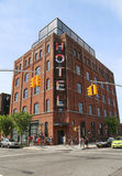 Het Hotel van boutiquewythe in Williamsburg-sectie in Brooklyn Stock Afbeeldingen