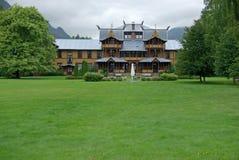 Het Hotel van Dalen Royalty-vrije Stock Afbeelding